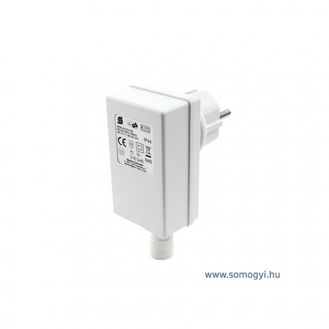 Hálózati adapter fényfüzérekhez, 31 V DC / 12 W, IP44