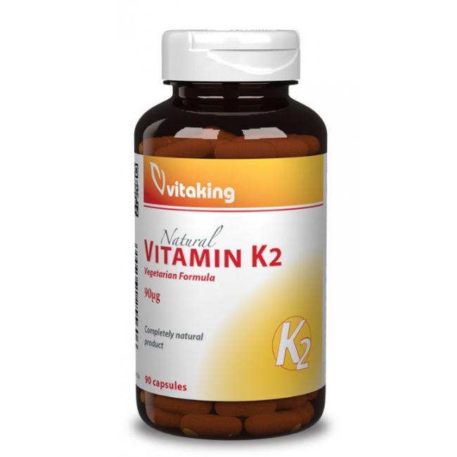 Vitaking Vitamin K2 kapszula 90 mcg [30 db]
