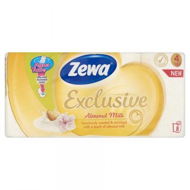 Toalettpapír, 4 rétegű, 8 tekercses, ZEWA