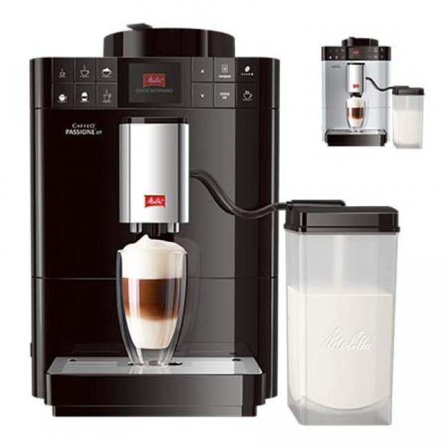 MELITTA Kávéfőzőgép, automata, kávédarálóval, MELITTA