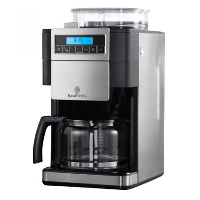 58bd62a81f Filteres kávéfőző beépített darálóval, RUSSELL HOBBS Buckingham Grind & Brew