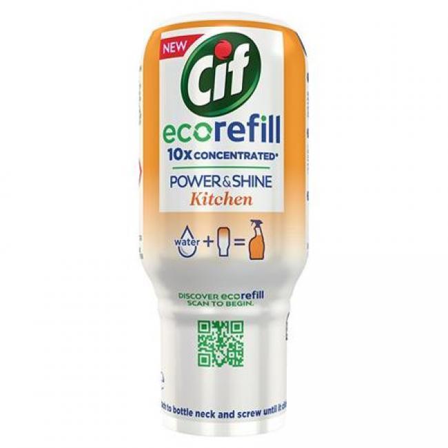 Konyhai zsíroldó spray, szuperkoncentrátum, utántöltő, 70 ml, CIF