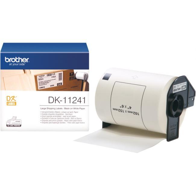 Brother DK-11241 tekercs (102 x 152mm) - 200db/tekercs