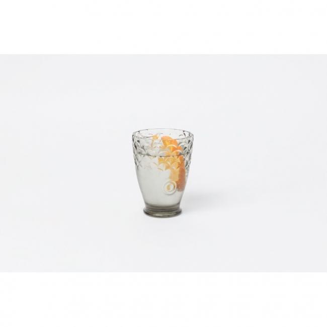 Koi egymásba tehető hal alakú pohár szett 23x23x15cm szürke [4 db]