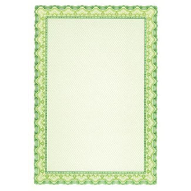 Oklevélpapír, A4, 115 g, APLI, smaragdzöld [70 lap]