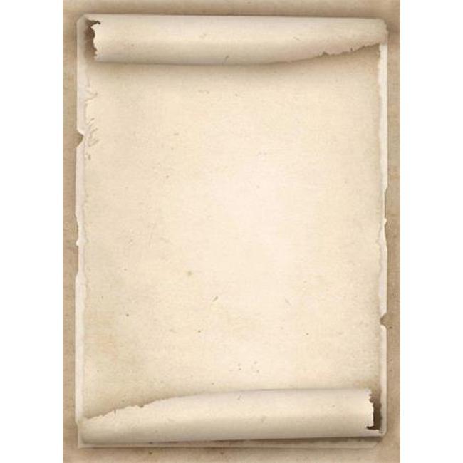 Előnyomott papír, A4, 90 g, APLI, régies pergamen hatású [20 lap]