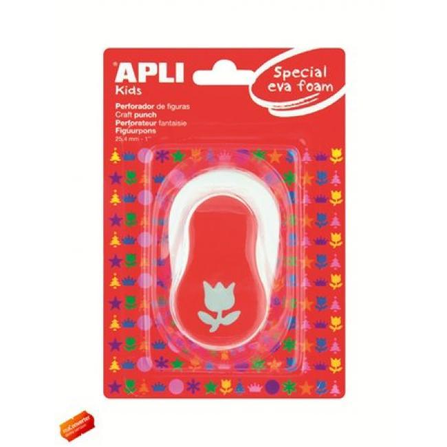 Mintalyukasztó, tulipán, APLI Creative, piros