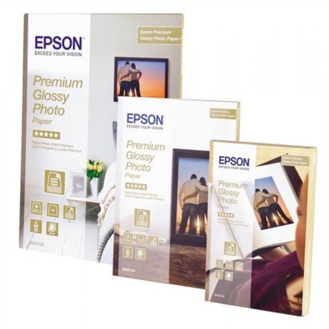S042155 Fotópapír, tintasugaras, A4, 255 g, fényes, EPSON [15 lap]