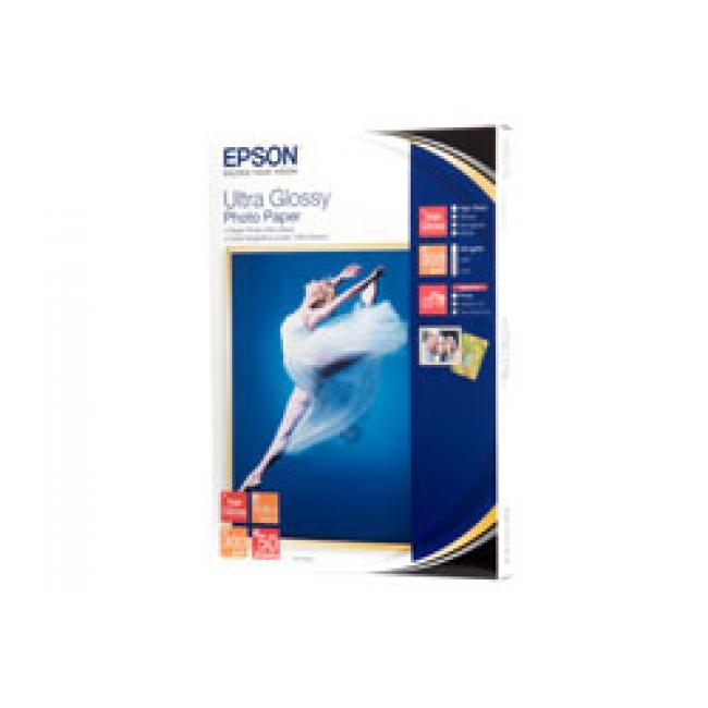 S041944 Fotópapír, tintasugaras, 13x18 cm, 300 g, ultra fényes, EPSON [50 lap]