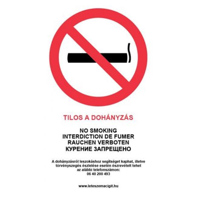 permetezni tilos a dohányzás a barátom dohányzik, megígéri, hogy kilép
