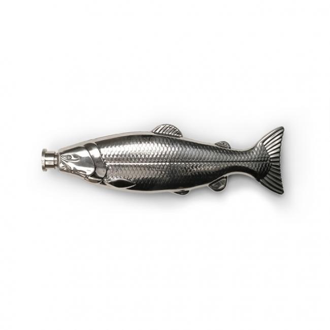 Laposüveg halas, fém 150ml