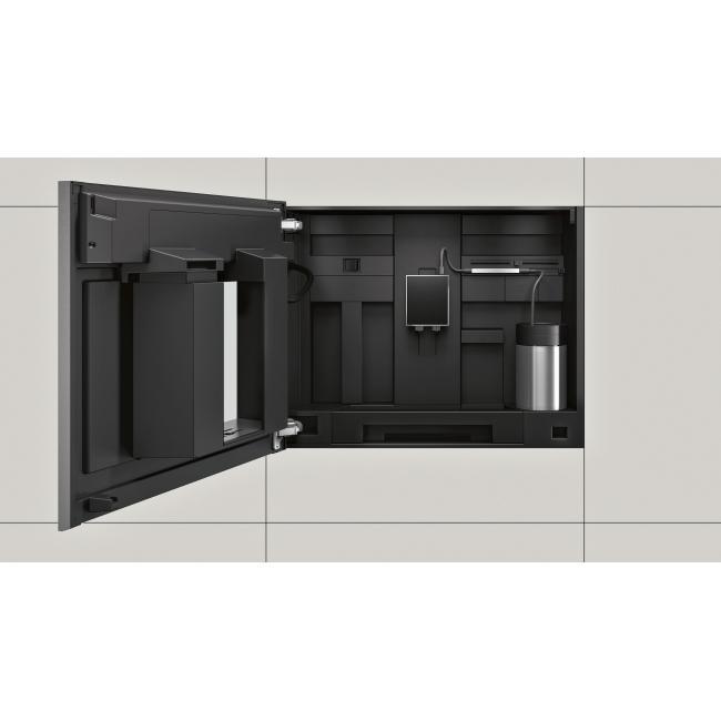 NEFF C15KS61N0 Beépíthető automata kávéfőző, 45cm magas, 1600W 4,1 TFT kijelző, IndividualCup