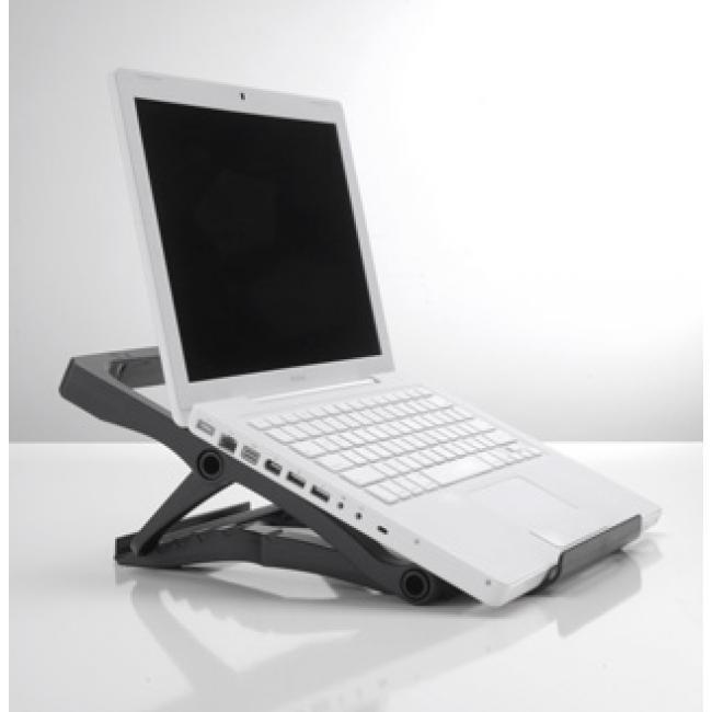 Hordozható notebook állvány (fekete) - WebÁruház.hu 0f7835cecd