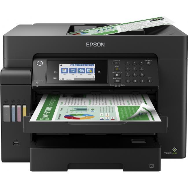 Epson EcoTank L15150 DADF (Duplex+WiFi+Hálózat+Fax) multifunkciós A3+ tintasugaras nyomtató