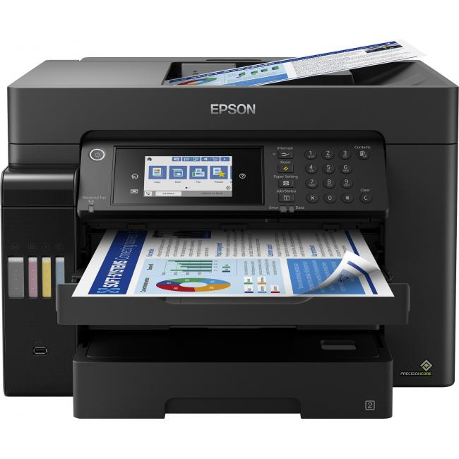 Epson EcoTank L15160 DADF (Duplex+WiFi+Hálózat+Fax) multifunkciós A3+ tintasugaras nyomtató