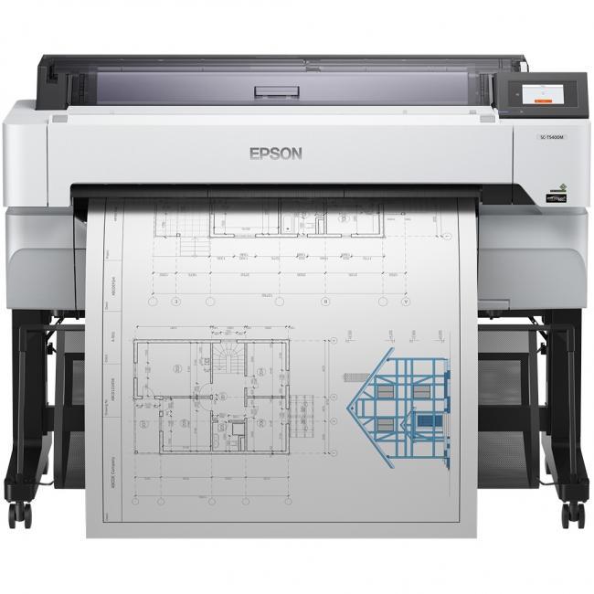 Epson SureColor SC-T5400M multifunkciós (Hálózat+WiFi) tintasugaras [A0] CAD nyomtató