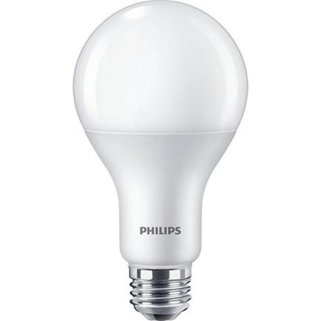 LED, izzó, E27, gömb, 17,5W, 2500lm, 4000K, A80, PHILIPS