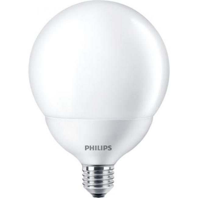 LED izzó, E27, gömb, 18W, 2000lm, 2700K, G120, PHILIPS