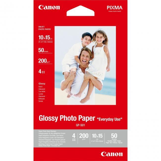 Canon [A6 / 200g] 50db fényes fotópapír #GP501