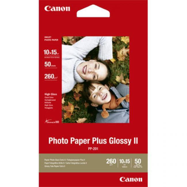 Canon [A6 / 260g] 50db fényes fotópapír #PP201