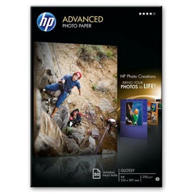 HP Glossy [A4 / 250g] 50db fotópapír #Q8698