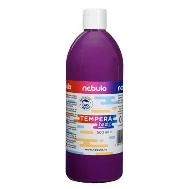 Tempera, 500 ml, NEBULO, lila