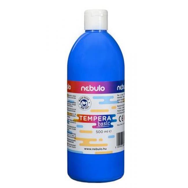 Tempera, 500 ml, NEBULO, világoskék