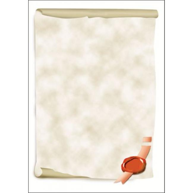 Előnyomott papír, A4, 185 g, SIGEL