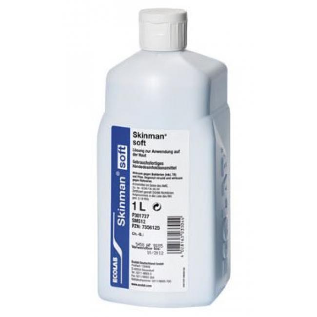 Fertőtlenítő Skinman soft Protect FF 1 L hig. kézfert. és műtéti bemosakodó