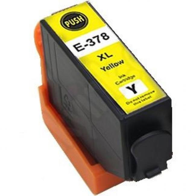 Epson T3794 [378 Y XL] kompatibilis tintapatron (ForUse)