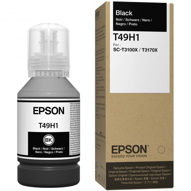 Epson T49H1 [Bk] 140ml tintapatron (eredeti, új)