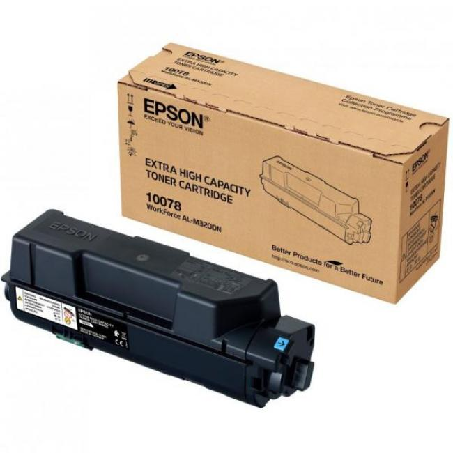Epson M320 [BK] #10078 [13,3k] toner (eredeti, új)
