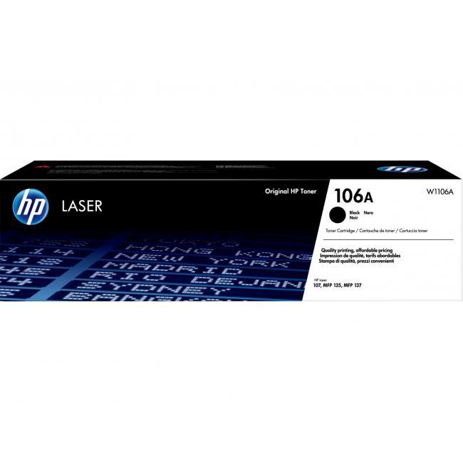 HP W1106A [BK] 1K #No.106A toner (eredeti, új)