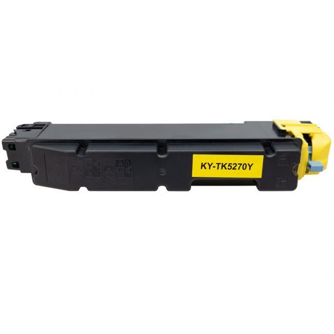 Kyocera TK-5270 [Y] kompatibilis toner [3 év garancia] (ForUse)
