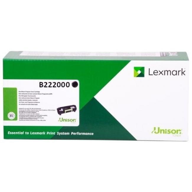 Lexmark [B2236] B222000 [Bk] 1,2K toner (eredeti, új)