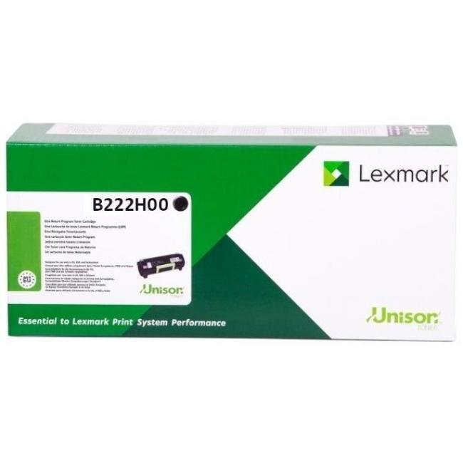 Lexmark [B2236] B222H00 [Bk] 3K toner (eredeti, új)