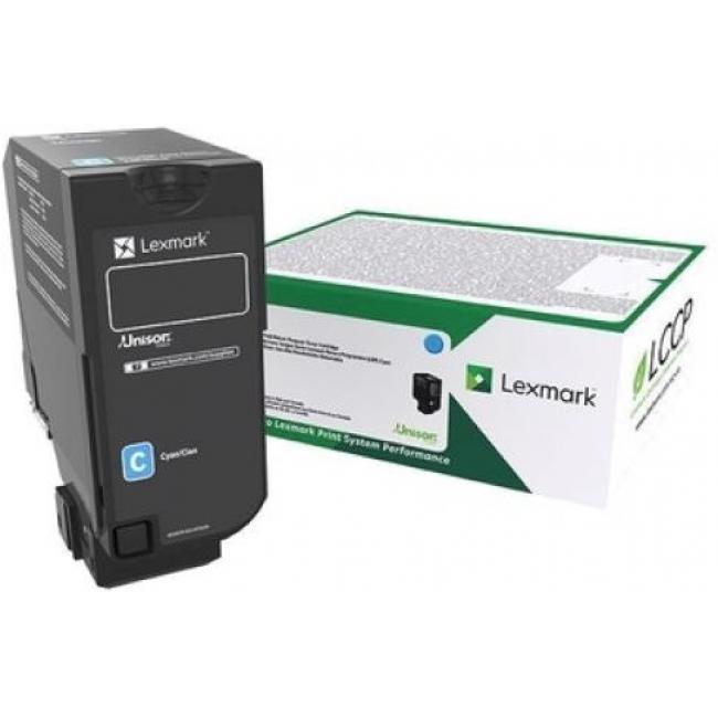 Lexmark [CX725] 84C2HCE [C] 16K toner (eredeti, új)