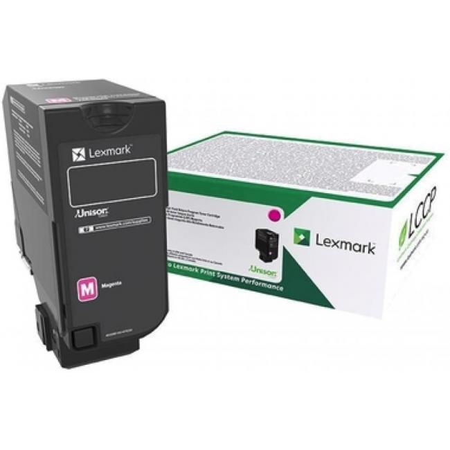 Lexmark [CX725] 84C2HME [M] 16K toner (eredeti, új)