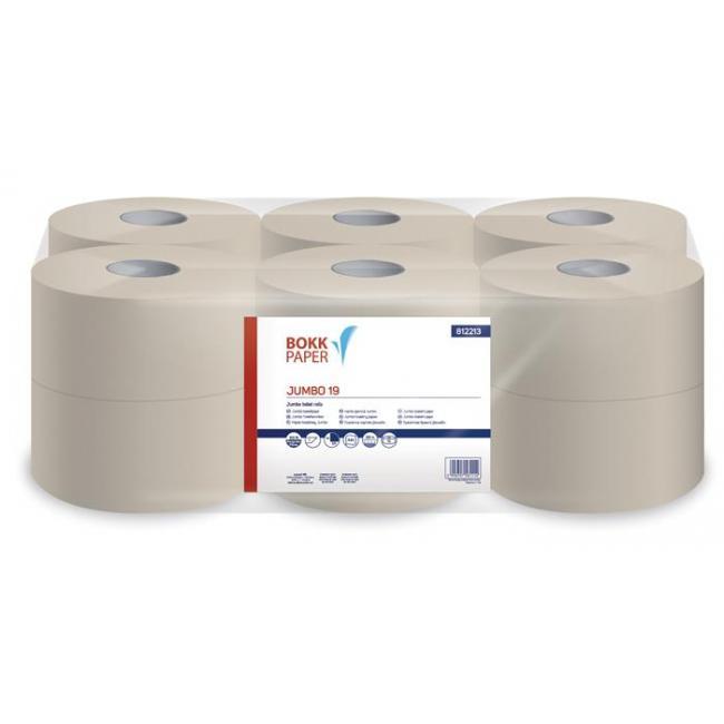 Toalettpapír, 1 rétegű, 125 m, 19 cm átmérő, LUCART,