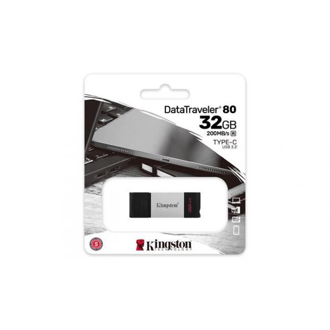 Pendrive, 32GB, USB-C, KINGSTON