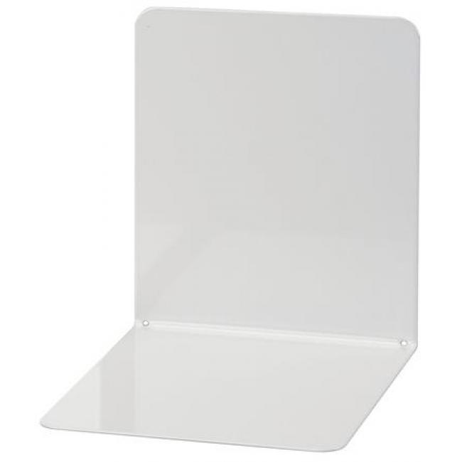 Könyvtámasz, fém, 2 db, 14x12x14 cm, WEDO, világosszürke [2 db]
