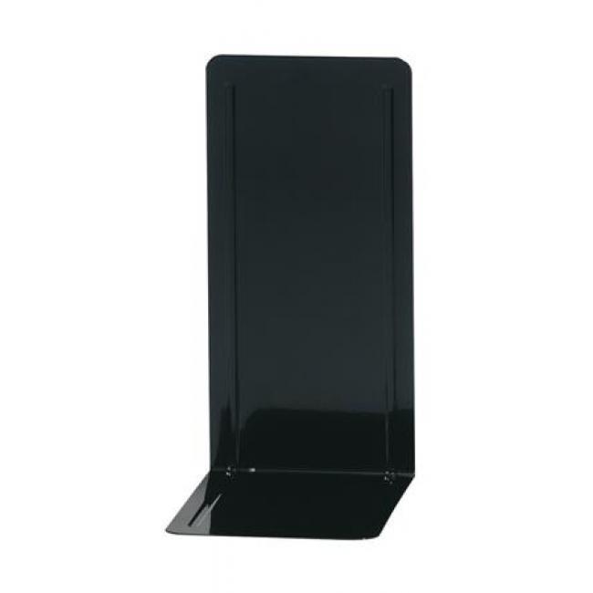 Könyvtámasz, fém, 2 db, 14x12x24 cm, WEDO, fekete [2 db]