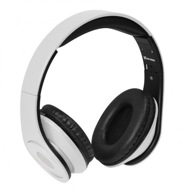 VAKOSS sztereó mikrofonos fejhallgató SK-378W fehér - WebÁruház.hu e204db6802