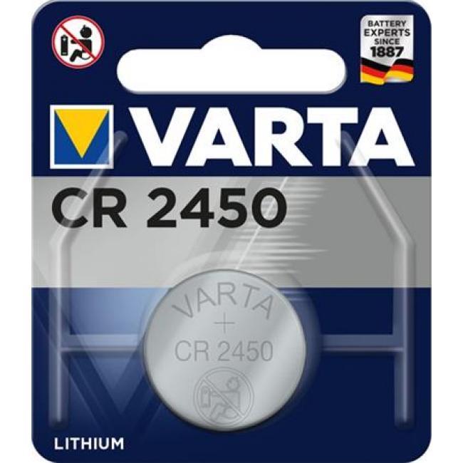 Gombelem, CR2450, 1 db, VARTA