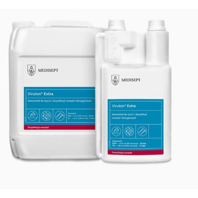 Fertőtlenítő Viruton Extra 1 liter, Eszközre