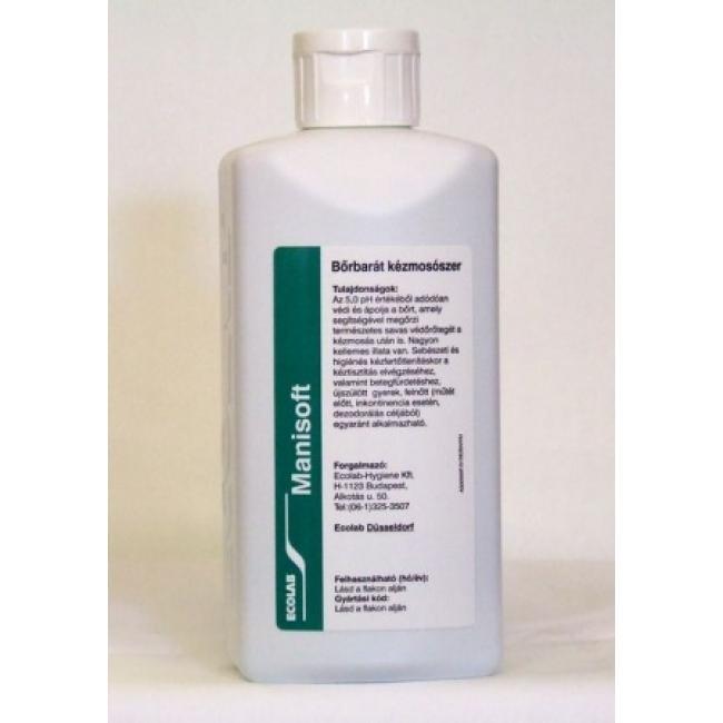 Fertőtlenítő Manisoft 500ml szappan