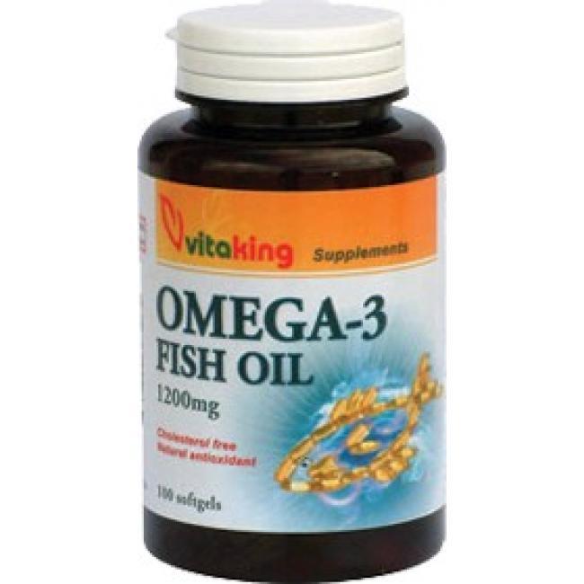 Vitaking Omega-3 Fish Oil 1200 mg [90 db]