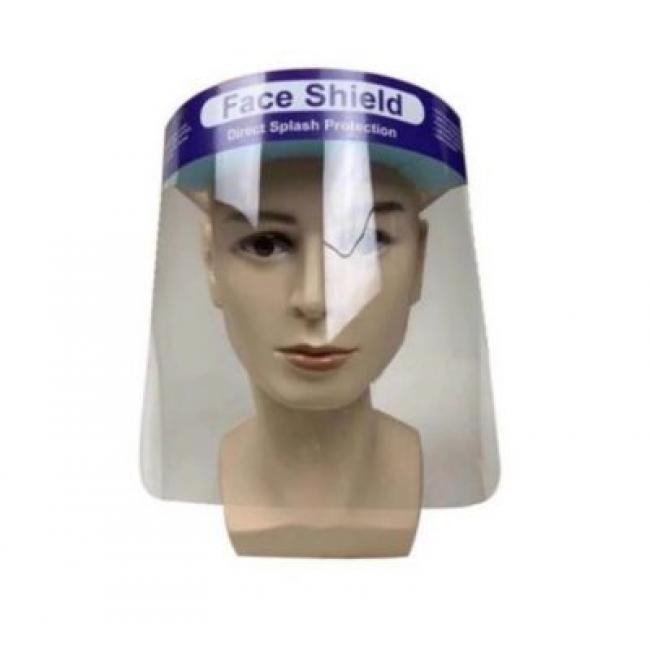 Arcvédő műanyag pajzs 33x22cm