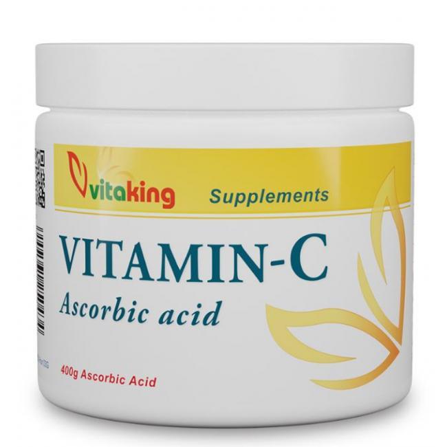 Vitaking Aszkorbinsav por (C vitamin) 400g