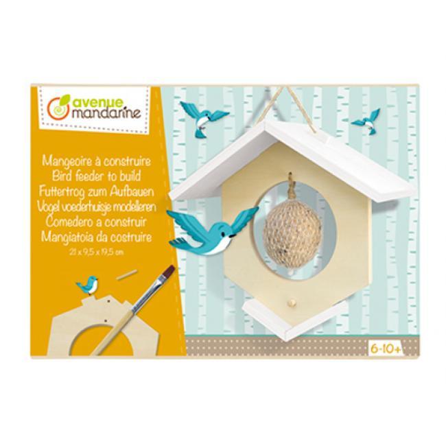 Avenue Mandarine CO172C Kreatív doboz, Építs Madár Házat